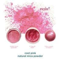 Natural Mica Powder - Cool Pink